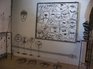 Facce - Complementi d'arredo dell'artista Emanuele Cazzaniga