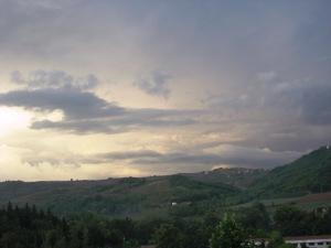 Le colline dove amo dare spazio alla mente