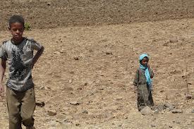 bambini deserto