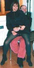 1993 Io e Andrea il nostro amico gay a fare gli scemi