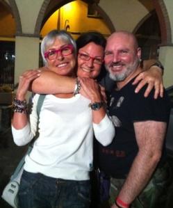 2012 Io Carla, sempre etero, e Andrea, sempre gay, sempre amici ancora insieme, sempre scemi.