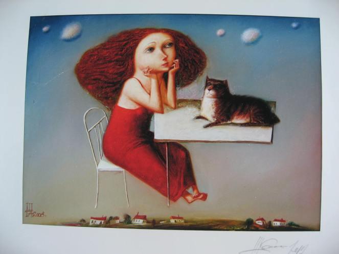 Lei adorava tutti gli animali. I gatti in particolare.