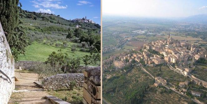 Trevi in Umbria